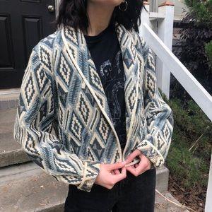 SOLD Vintage cropped southwestern jacket
